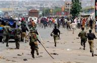 Scene from January Violence in Jos
